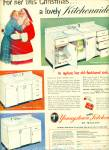 1949 Youngstown steel Kitchens by Mullins ad