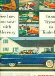 1954 Mercury Monterey 2 - Door Hardtop Car Ad