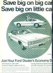 1970 FORD GALAXIE 500 - Maverick CAR AD Origi