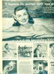 Click here to enlarge image and see more about item R3946: Jergens Lotion Esther Williams ad - 1950
