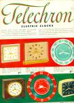 Click here to enlarge image and see more about item R3959: Telechron electric clocks ad