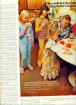 Carter's sleepwear AD  - Three Girls and Dad