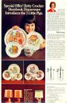 Click here to enlarge image and see more about item R4007: Betty Crocker dinnerware ad  1973