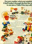 1970's Fisher-Price toys ad BARN - CIRCUS ++