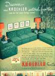 Kroehler furniture ad