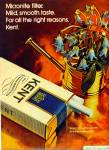 Click here to enlarge image and see more about item R4039: Kent Cigarettes ad