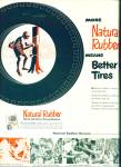Natural   rubber ad  - 1950