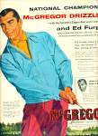Click here to enlarge image and see more about item R4098: 1955 McGregor sportswear  ad