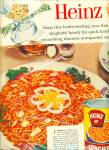 Click here to enlarge image and see more about item R4126: Heinz 57 Spaghetti tomato sauce and cheese ad