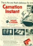 Click here to enlarge image and see more about item R4127: Carnation instant nonfat dry milk ad