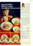 Click here to enlarge image and see more about item R4221: Better crocker storybook dinnerware  ad - 72