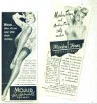2 - 1945 BRA ADS MOJUD - Maidenform PINUP ART
