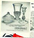 Click here to enlarge image and see more about item R4297: Cristal d'arques giftware ad   1982
