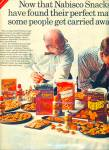 Nabisco snacks ad - 1967