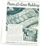 Prem with Mexican corn pudding ad - 1943