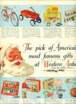 Click to view larger image of 1950s Western Auto ~ TOYS ~ Vintage DOLLS 2 page AD  (Image2)