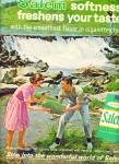 Salem Cigarettes ad VINTAGE COUPLE