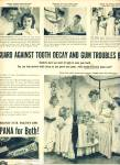 1950 IPANA Tooth Paste Mother - 5 Children