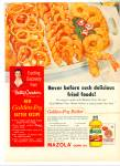 Mazola corn oil and Gold Medal flour ad