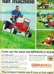 Click here to enlarge image and see more about item R4548: Gravely compact tractor ad