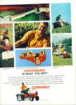 Click here to enlarge image and see more about item R4570: Gravely Cordporation lawn tractor ad