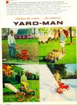 Click here to enlarge image and see more about item R4586: Yard Man maintenance equipment ad  1968
