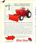Click here to enlarge image and see more about item R4589: Wheel Horse lawn tractor ad