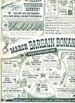 Click to view larger image of 1955 Rexall Drug AD March Bargain Bonanza (Image1)