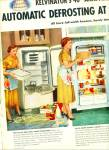 Click to view larger image of 1954 Kelvinator's  40th ANNIV REFRIGERATOR AD (Image2)