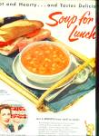 Campbell's soups ad 1954
