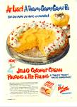 Click here to enlarge image and see more about item R4676: Jello pudding and pie filling ad - 1951