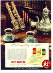 Click here to enlarge image and see more about item R4677: A & P Coffee ad SILVER SERVICE