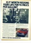 Volvo automobile ad - 1978