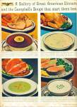A gallery of dinners and campbell's soups ad