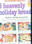 Click here to enlarge image and see more about item R4903: Pillsbury Heavenly holiday breads ad