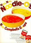 Campbell's Chicken Noodle O soup ad 68