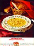Campbell;s Chicken noodle soup ad   1965