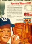 Click to view larger image of 1962 Wilson Baseball AD AL KALINE DETROIT (Image2)