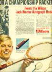 Click to view larger image of 1962 Wilson Sporting AD JACK KRAMER Tennis (Image2)