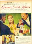Click here to enlarge image and see more about item R5132: 1946 ROMA WINES AD Sundblom - Agnew  ART ??