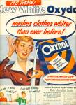 Click here to enlarge image and see more about item R5156: Oxydol soap ad - 1949