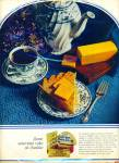 Kraft Cracker Barrel cheese ad  - 1971