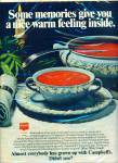 Campbell's soups ad 1972