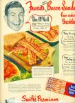 Swifts Premium bacon ad -  1950