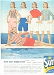 Surf soap  ad  - 1958