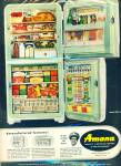 Click here to enlarge image and see more about item R5234: Amana refrigerator ad