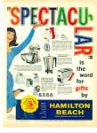 Click here to enlarge image and see more about item R5261: Hamilton Beach appliances ad - 1960