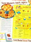 Click here to enlarge image and see more about item R5297: Gold Medal flour ad