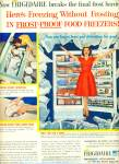 Frigidaire advanced appliances ad - 1959