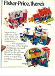 Click here to enlarge image and see more about item R5330: Fisher Price toys ad